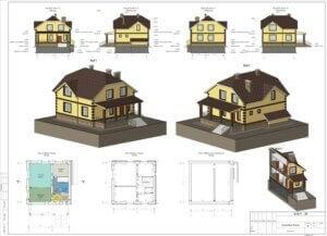 Проект дома. Проектирование коттеджа
